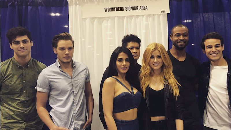 Shadowhunters - Live Updates! The Shadowhunters Cast at WonderCon! - Thumb