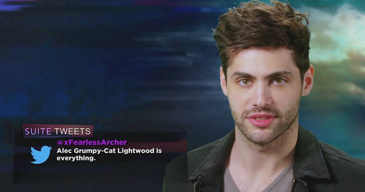 "Shadowhunters - The 10 Best Moments Of The ""Superfan: Shadowhunters"" Interview!  - 1009"