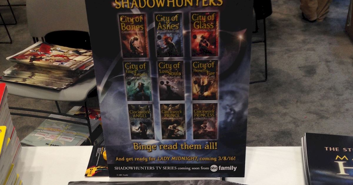 Shadowhunters - Thursday Live Blog: Shadowhunters At New York Comic Con  - 999