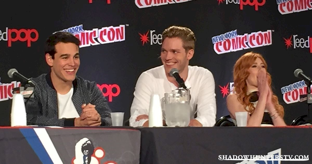 Shadowhunters - Shadowhunters Q&A At New York Comic Con - 1973