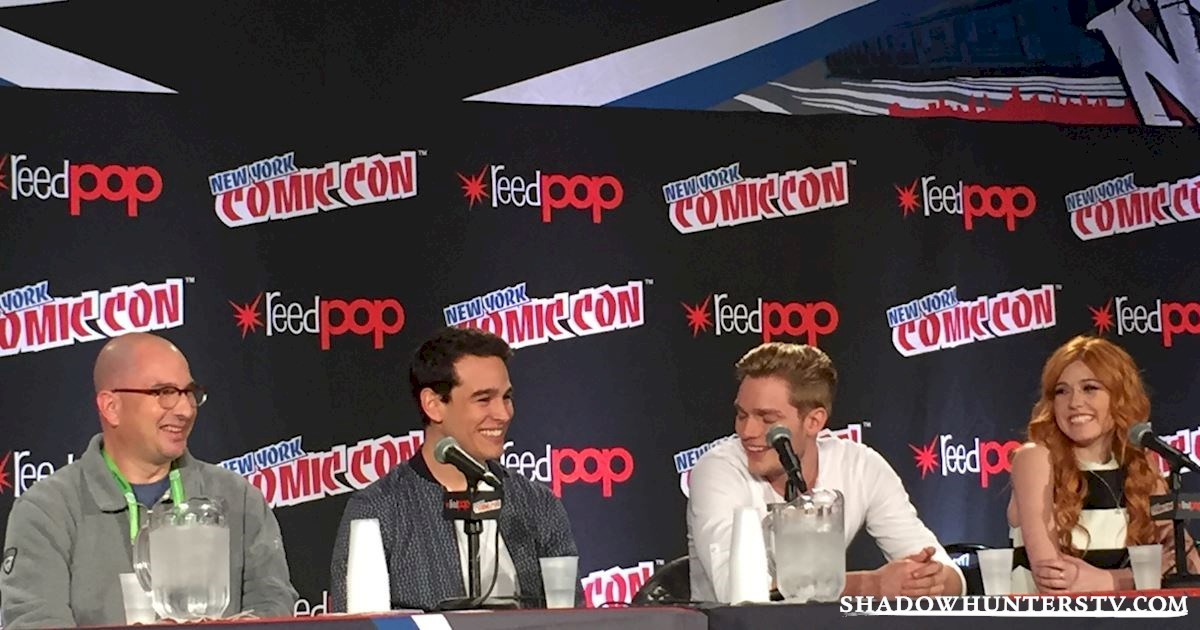 Shadowhunters - Shadowhunters Q&A At New York Comic Con - 1986