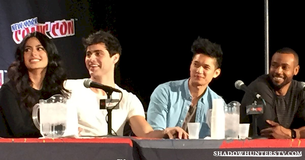 Shadowhunters - Shadowhunters Q&A At New York Comic Con - 1987