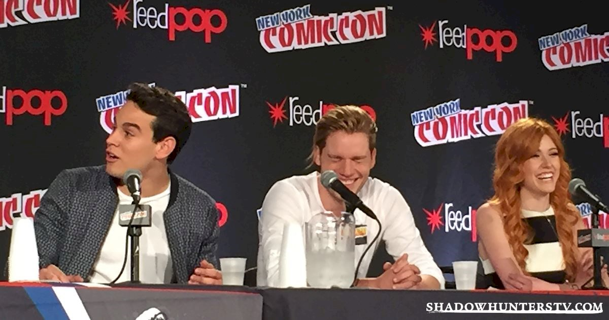 Shadowhunters - Shadowhunters Q&A At New York Comic Con - 1963
