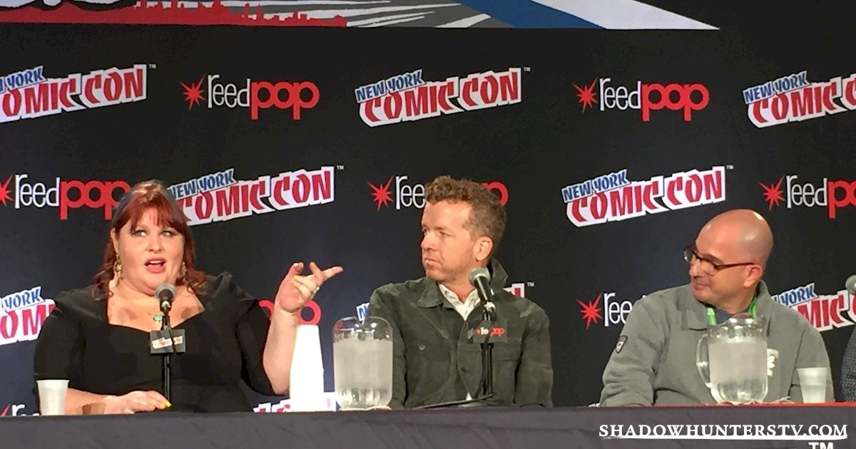 Shadowhunters - Shadowhunters Q&A At New York Comic Con - 1975