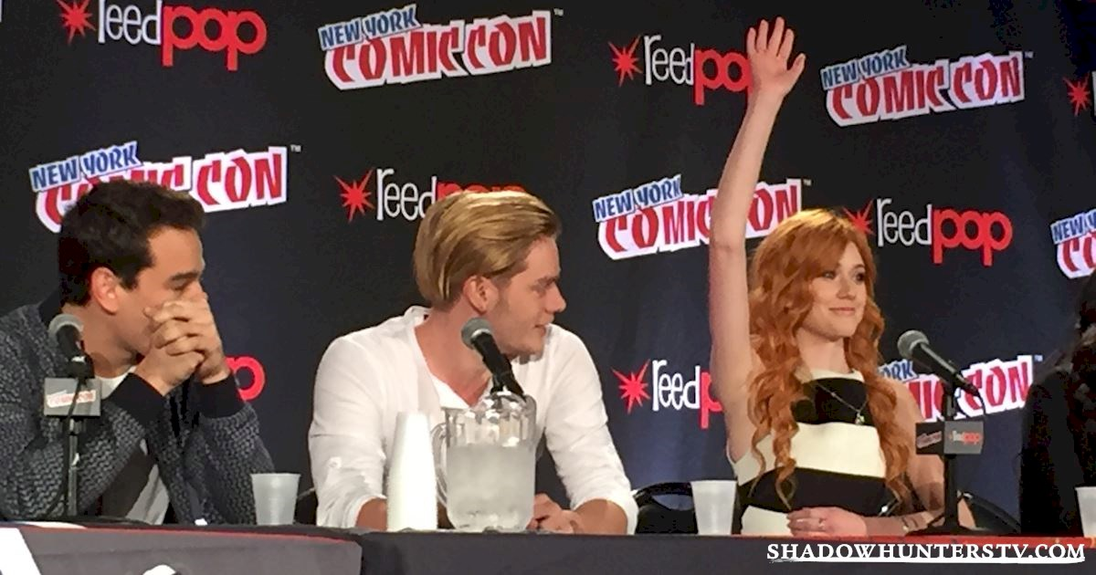 Shadowhunters - Shadowhunters Q&A At New York Comic Con - 1977