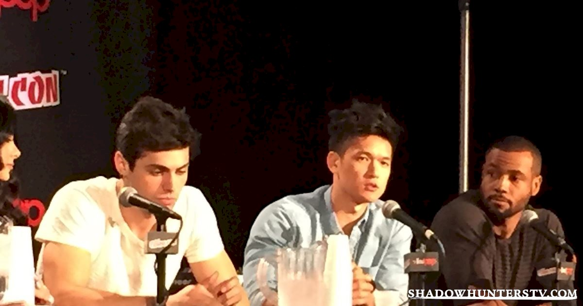 Shadowhunters - Shadowhunters Q&A At New York Comic Con - 1966