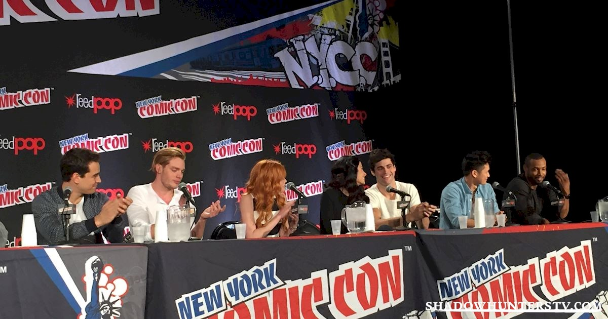 Shadowhunters - Shadowhunters Q&A At New York Comic Con - 1961