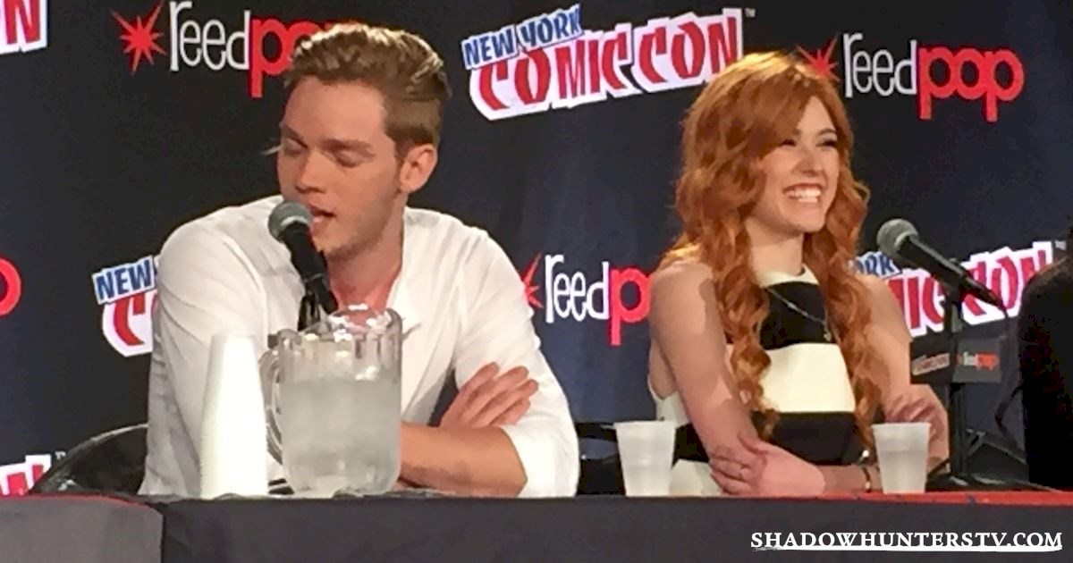Shadowhunters - Shadowhunters Q&A At New York Comic Con - 1984