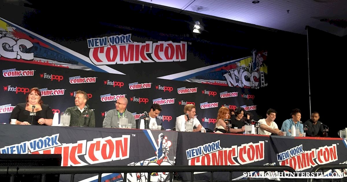 Shadowhunters - Shadowhunters Q&A At New York Comic Con - 1991