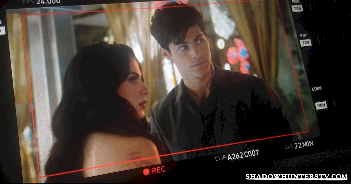 Shadowhunters - [EXCLUSIVE PHOTOS] Shadowhunters On Camera and Off  - 1003