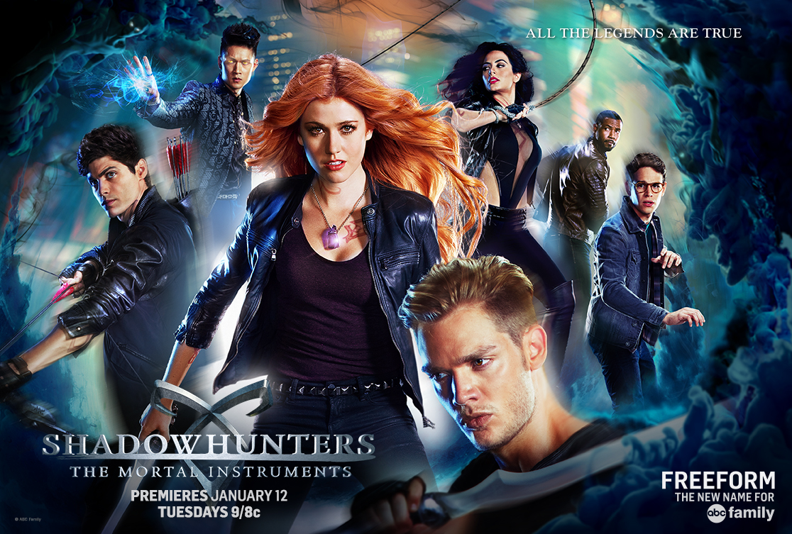Shadowhunters - ICYMI - More Official Shadowhunters Posters!!! - 1001