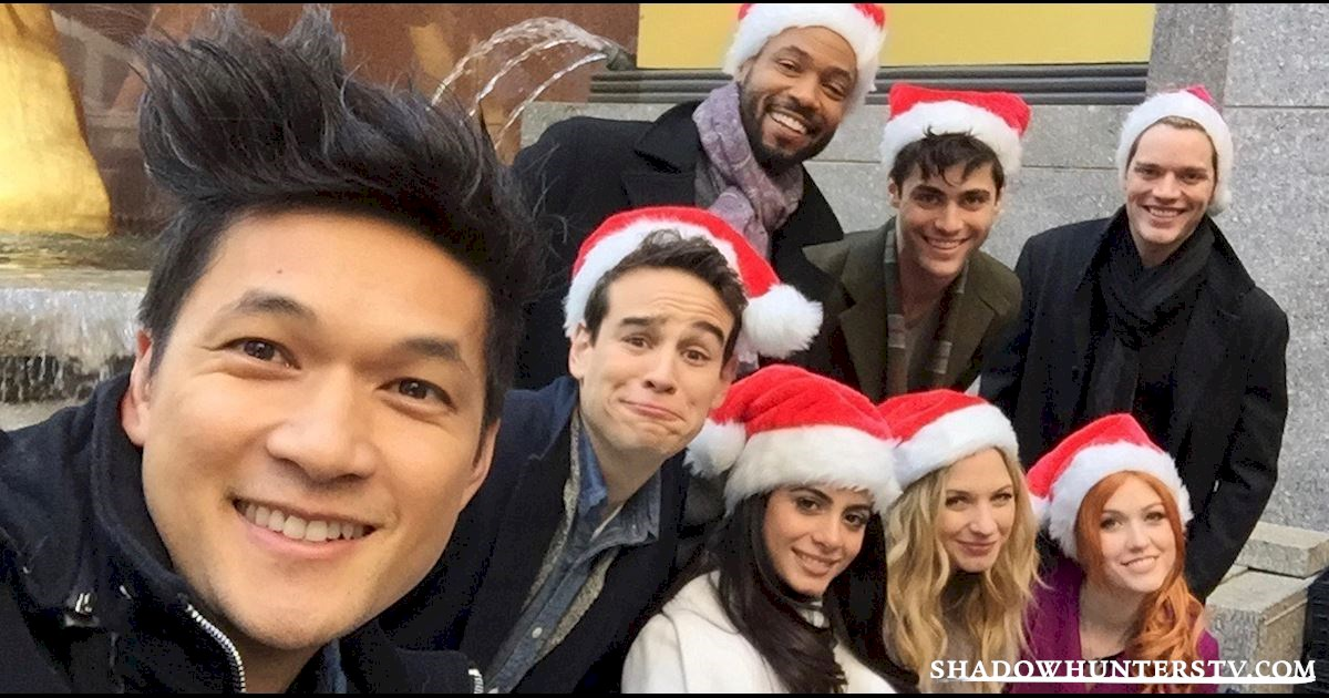 Shadowhunters - Live Blog: A Winter Wonderland with the Shadowhunters Cast - 992