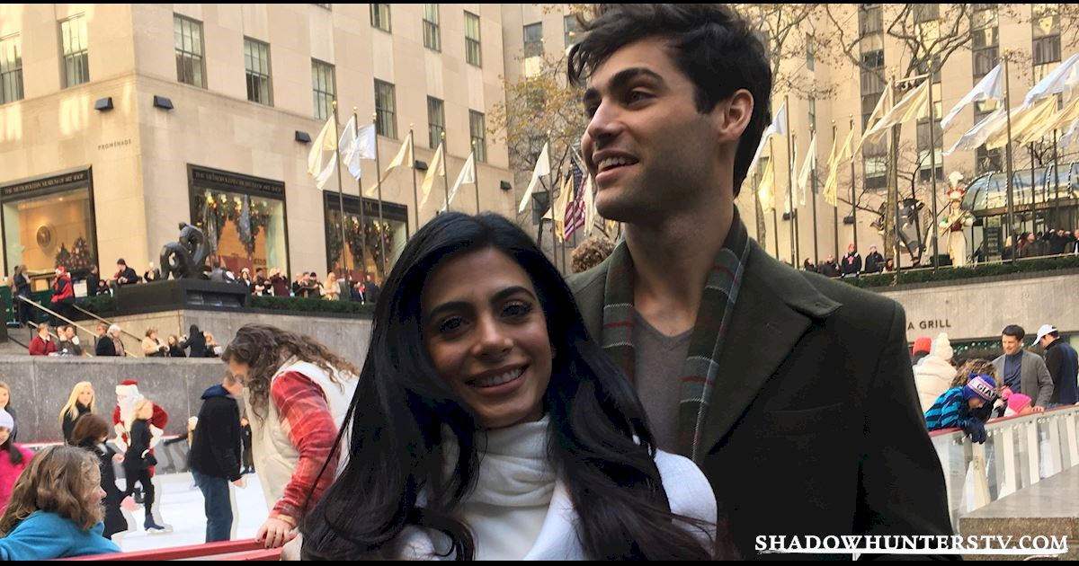 Shadowhunters - Live Blog: A Winter Wonderland with the Shadowhunters Cast - 1002
