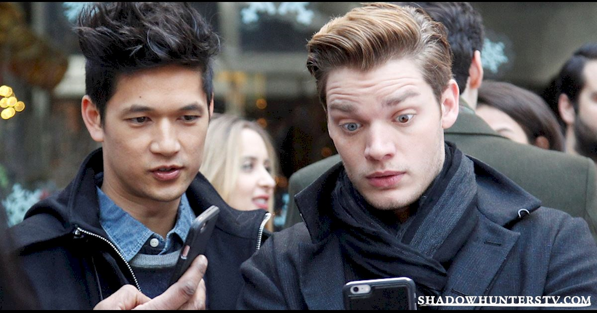 Shadowhunters - LIVE Twitter Chat with the Shadowhunters Cast! - 1986