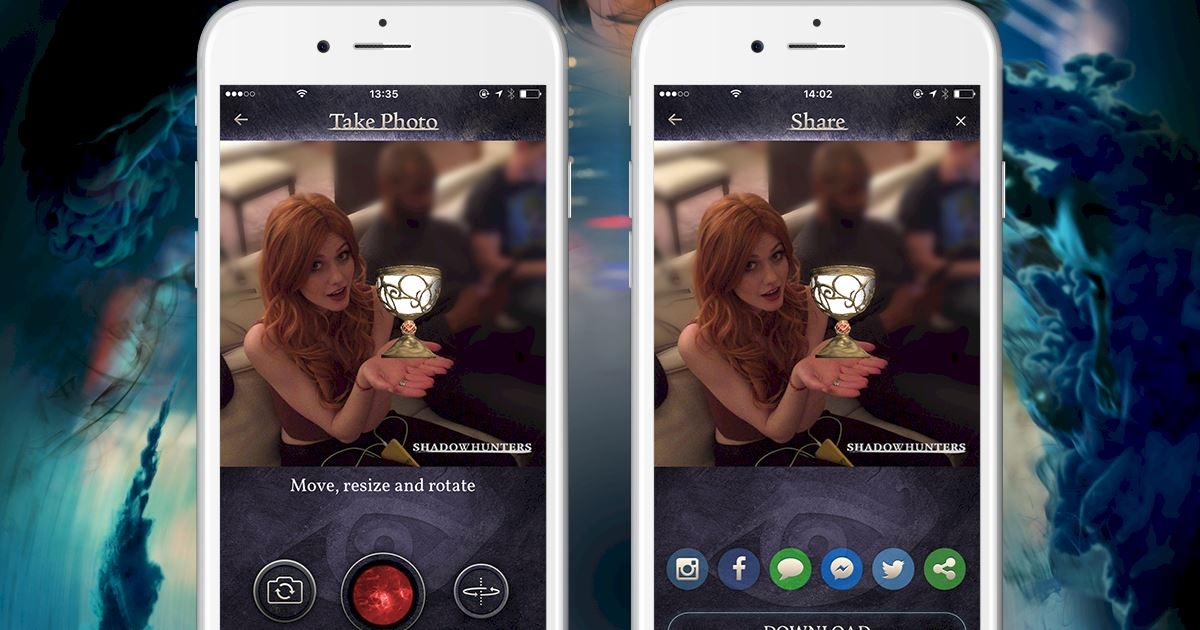 Shadowhunters - Official iOS and Android app launched - Join The Hunt now! - 1005