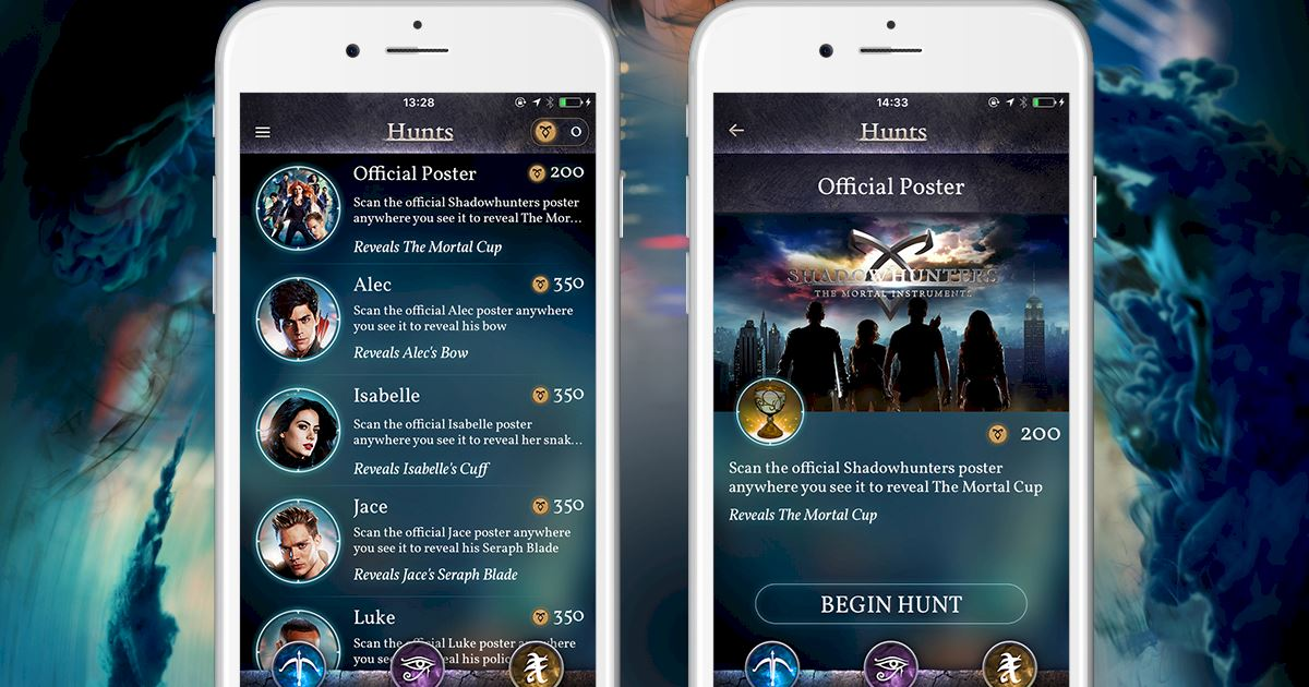 Shadowhunters - Official iOS and Android app launched - Join The Hunt now! - 1003