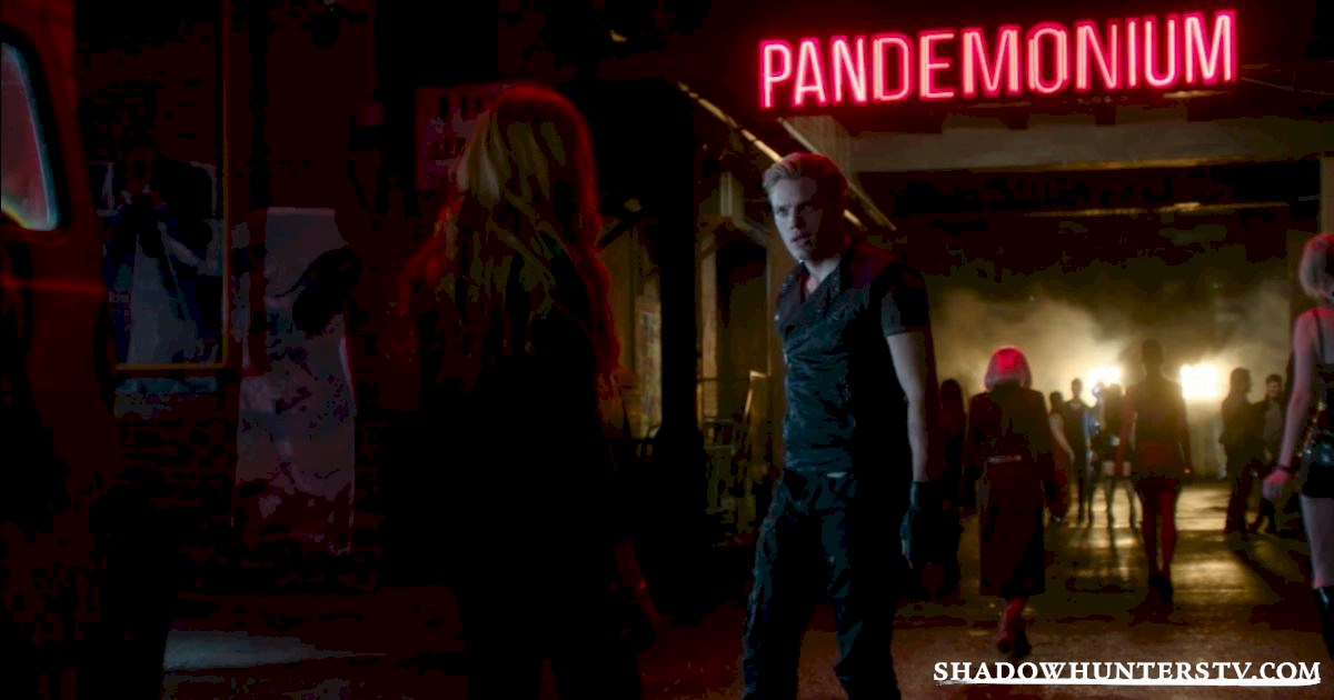 Shadowhunters - Pandemonium: The Place To Be This Holiday Season - 1001