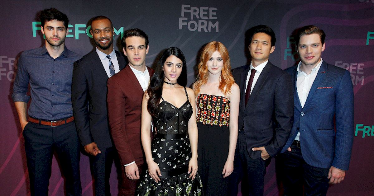 Shadowhunters - The Shadowhunters Cast Were Reunited At The Freeform Upfronts! - 1002