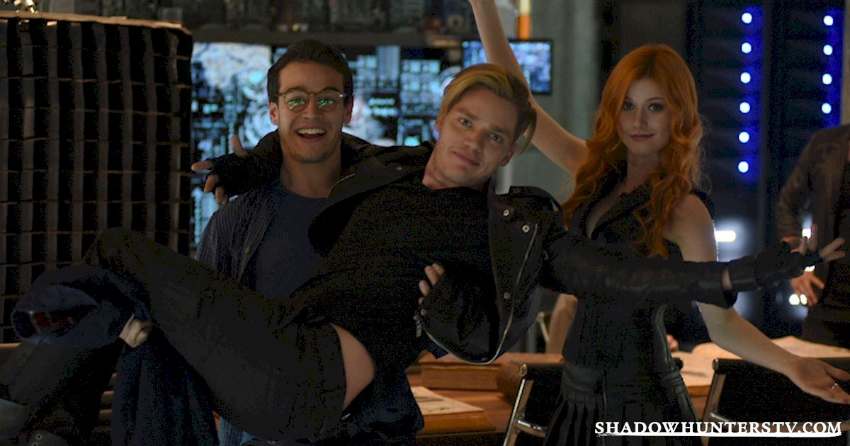 Shadowhunters - Caption This: Ta-DA! - 1001
