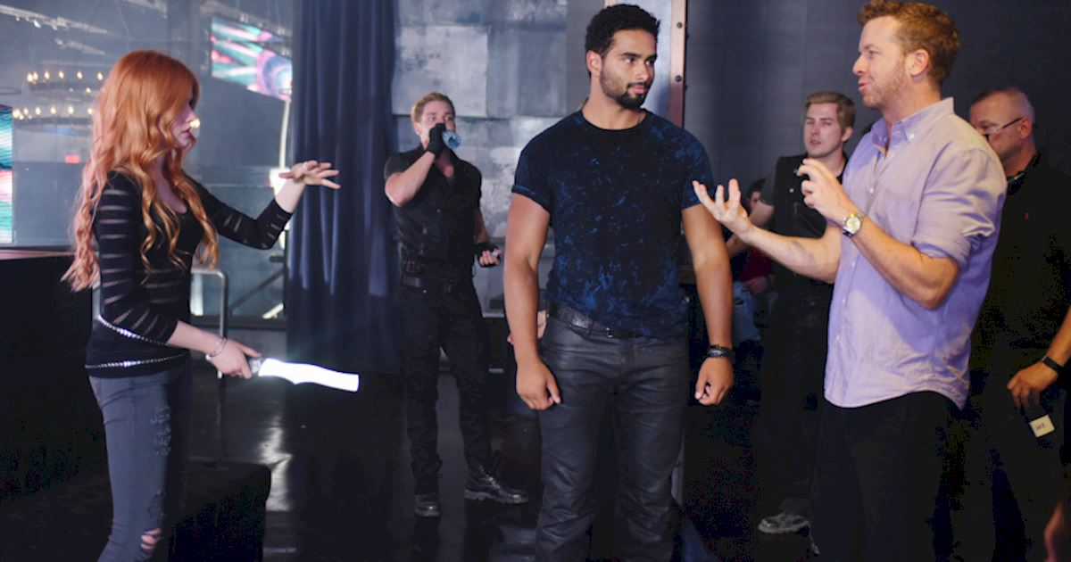 Shadowhunters - Episode 101: Behind The Scenes Photos! - 1005