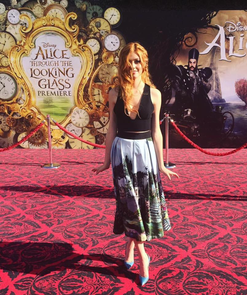 "Shadowhunters - Watch Katherine McNamara Rock The Red Carpet At The ""Alice Through The Looking Glass"" Premiere! - 1003"