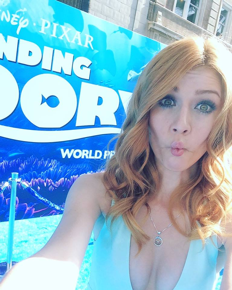 "Shadowhunters - Katherine McNamara Was Working The ""Blue"" Carpet At The Finding Dory Premiere! - 1008"
