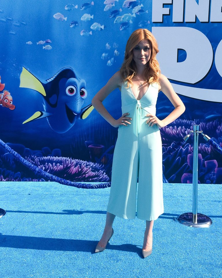 "Shadowhunters - Katherine McNamara Was Working The ""Blue"" Carpet At The Finding Dory Premiere! - 1004"