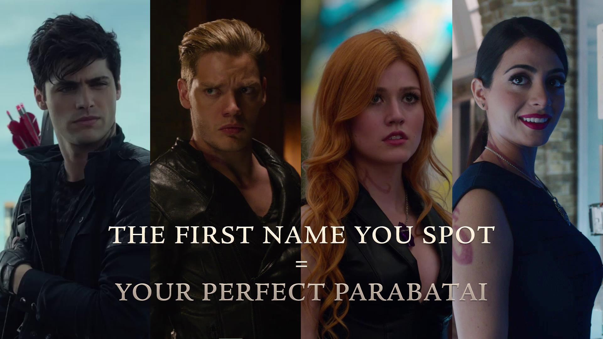 Shadowhunters - The First Name You Spot Is Your Perfect Parabatai - 1001