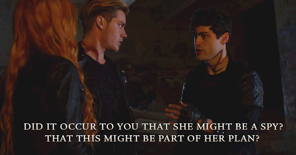 Shadowhunters - 23 Moments That Defined Clalec's Unusual Friendship - 1003