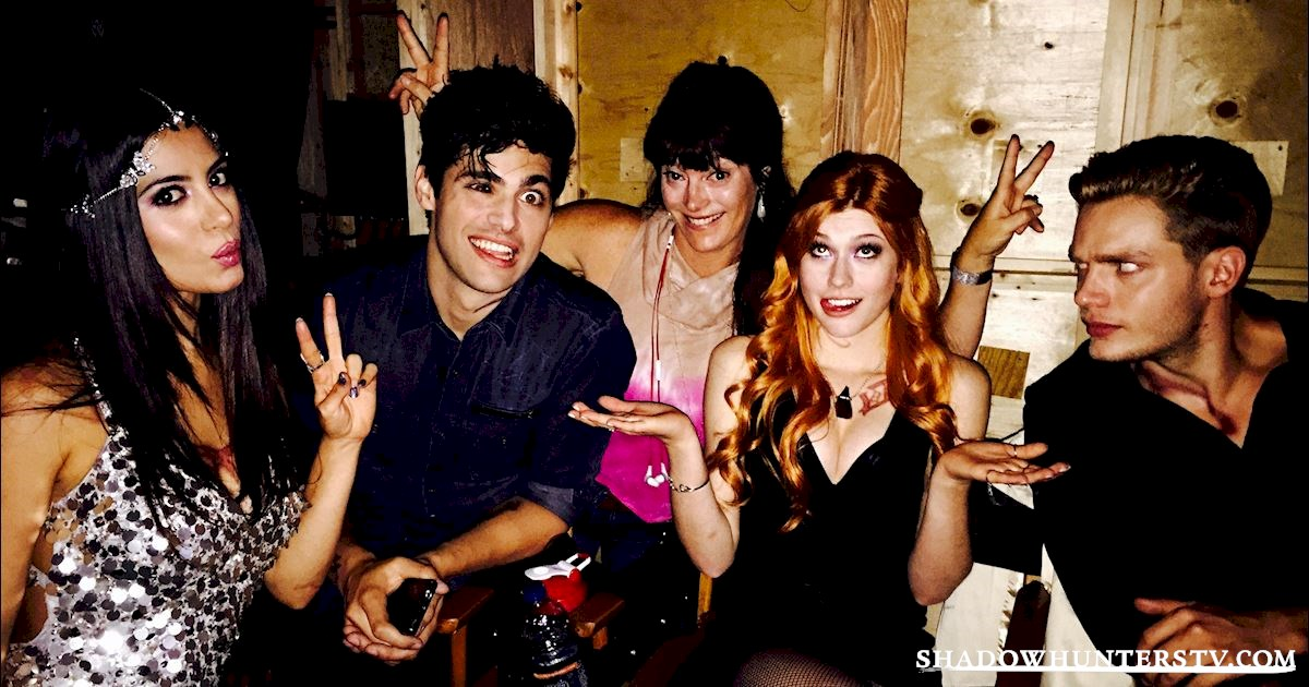 Shadowhunters - Caption This: The Cast Raising Hell In Episode Four! - 1001