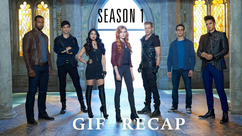 Shadowhunters - 60 GIFs That Perfectly Sum Up The First Season Of Shadowhunters - Thumb