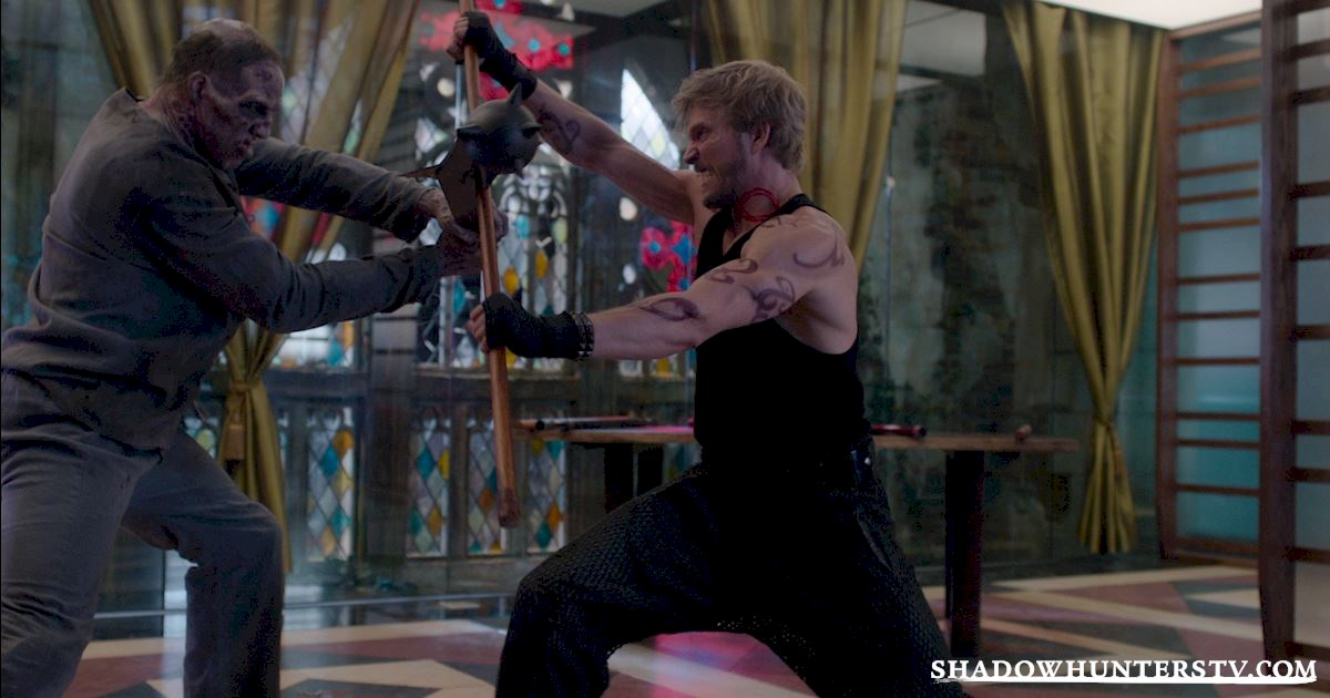 Shadowhunters - Bad Blood: Focusing On Forsaken! - 1004