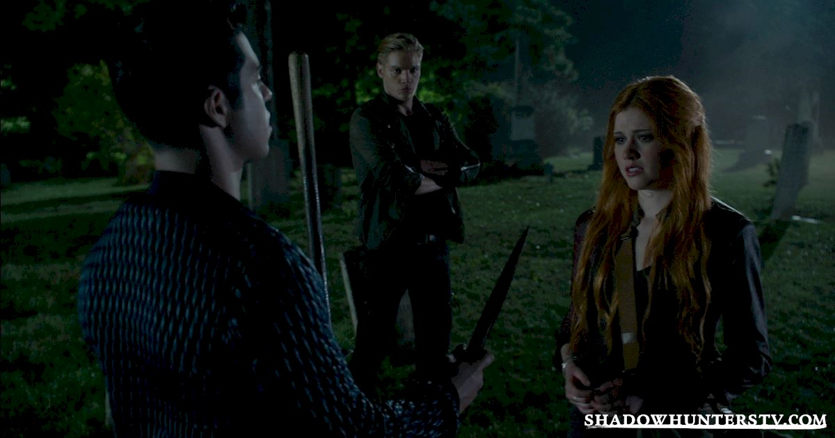 "Shadowhunters - Episode 108: ""Bad Blood"" Official Recap! - 1015"