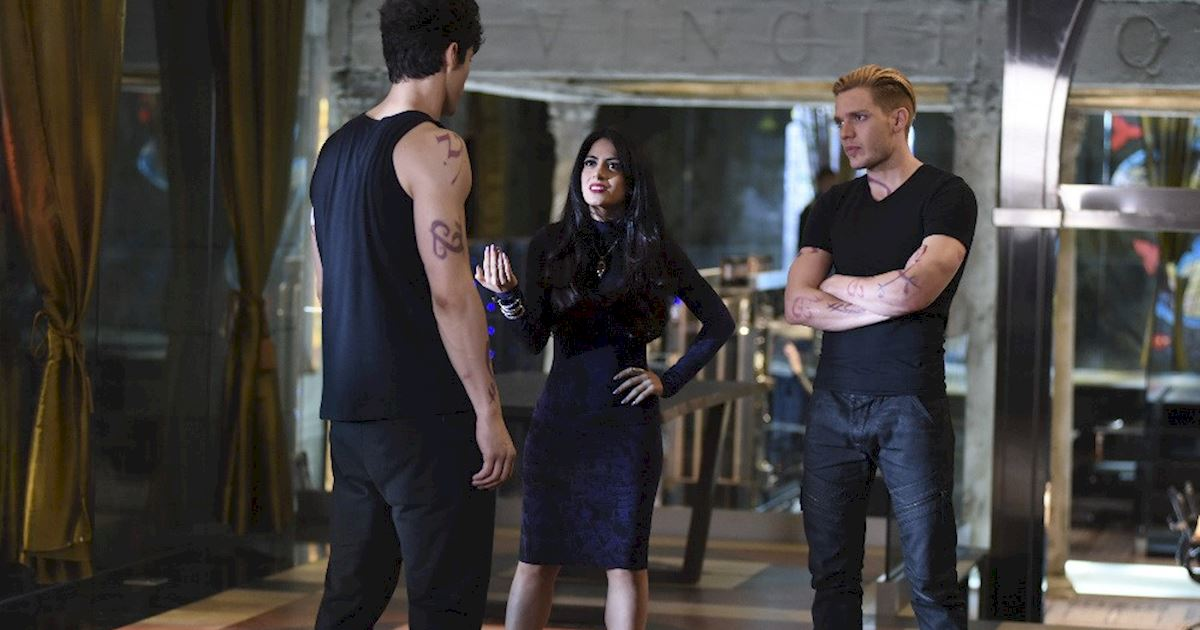 Shadowhunters - Spectacular Set Photos From Episode Nine Of Shadowhunters - 1013