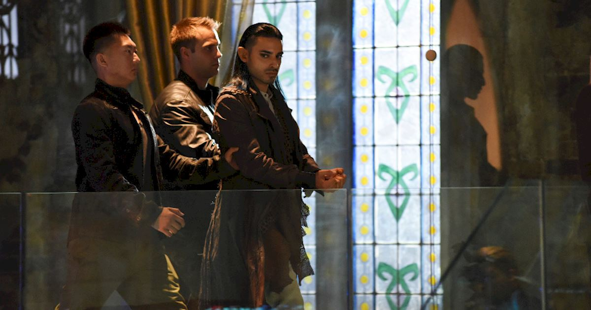 Shadowhunters - Spectacular Set Photos From Episode Nine Of Shadowhunters - 1009