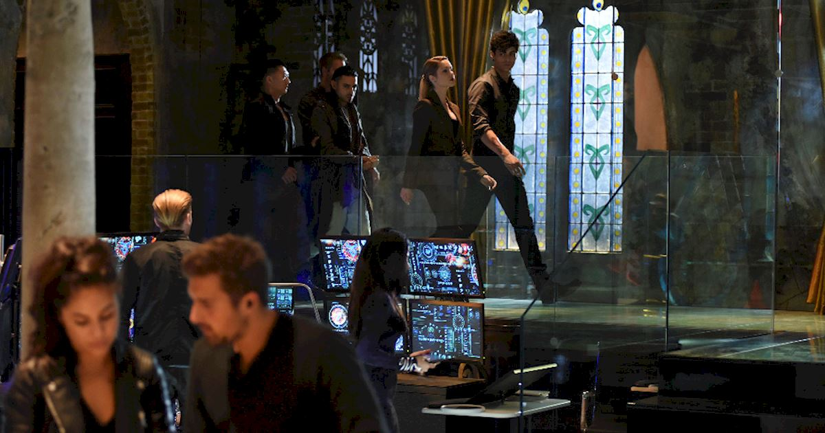 Shadowhunters - Spectacular Set Photos From Episode Nine Of Shadowhunters - 1008