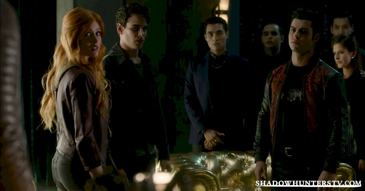 Shadowhunters - Odd Jobs: From Shadow World To Mundane World - 1003