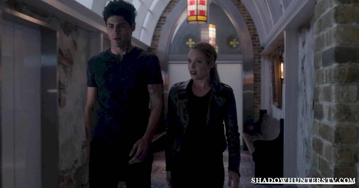 Shadowhunters - [EXCLUSIVE] Episode 11 Sneak Peek: Can Someone Stop Alec and Lydia's Marriage? - 1003