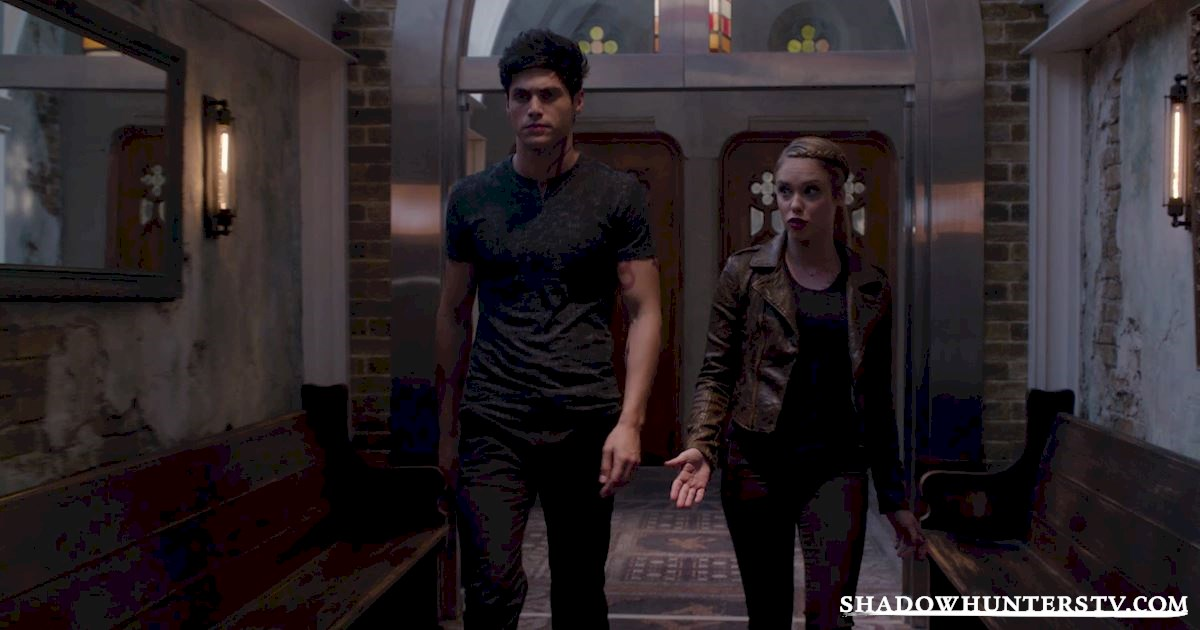 Shadowhunters - [EXCLUSIVE] Episode 11 Sneak Peek: Can Someone Stop Alec and Lydia's Marriage? - 1002
