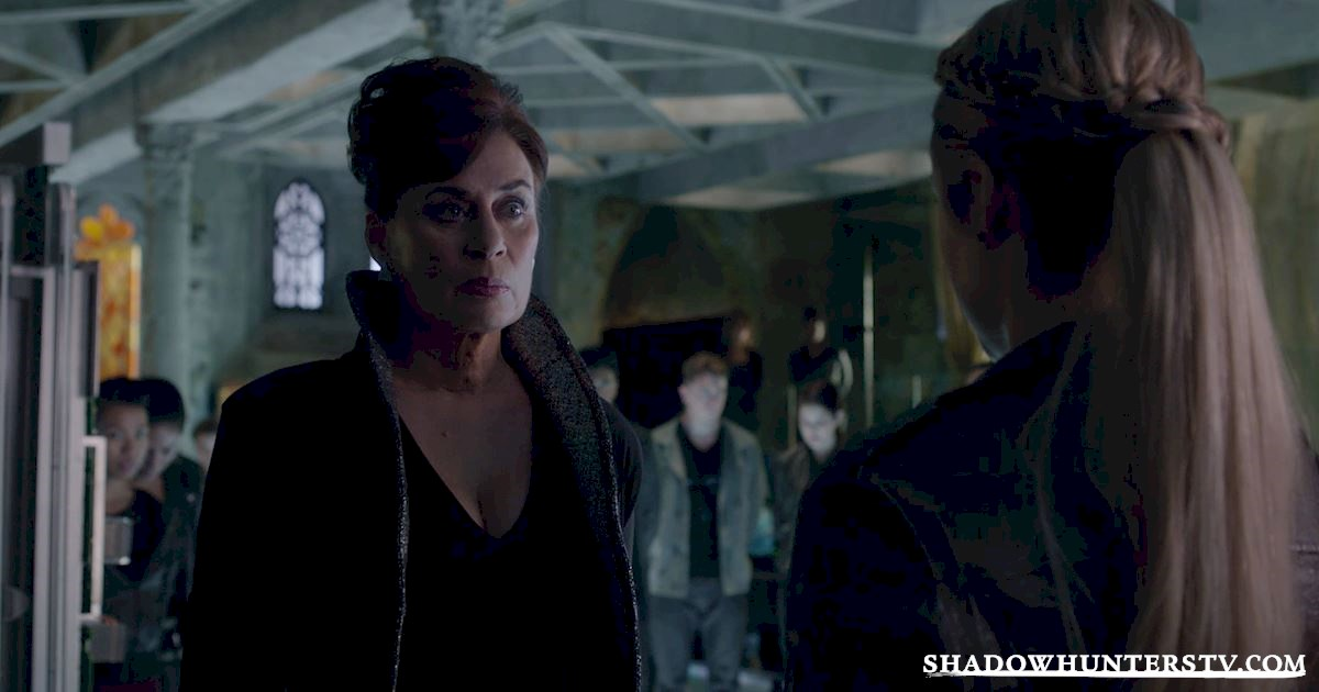 Shadowhunters - [EXCLUSIVE] Episode 11 Sneak Peek: Can Someone Stop Alec and Lydia's Marriage? - 1014