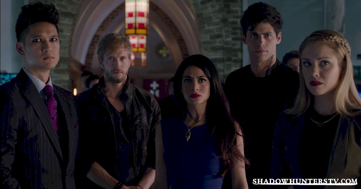 Shadowhunters - Episode 11: The Rule Makers And Breakers Of The Shadow World  - 1006