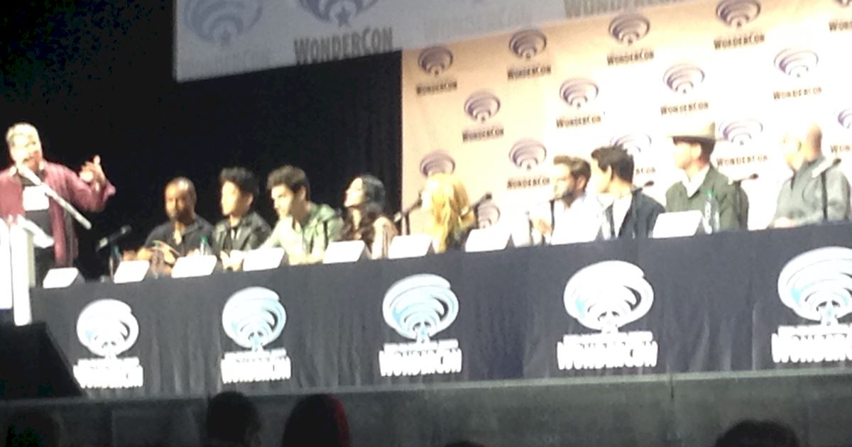Shadowhunters - Live Updates! The Shadowhunters Cast at WonderCon! - 995