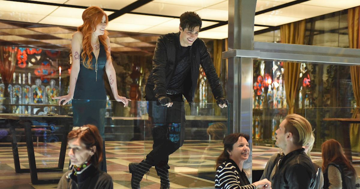 Shadowhunters - Behind The Scenes Of Morning Star! Still Looking Better Than The Widows Of Their Enemies! - 1006