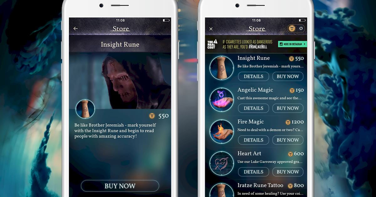 "Shadowhunters - [Join The Hunt] New Store Item ""Insight Rune""! - 1003"
