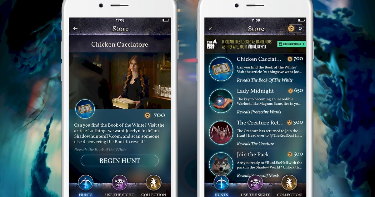 Shadowhunters - [Join The Hunt] New Hunt Released: Chicken Cacciatore! - 1002